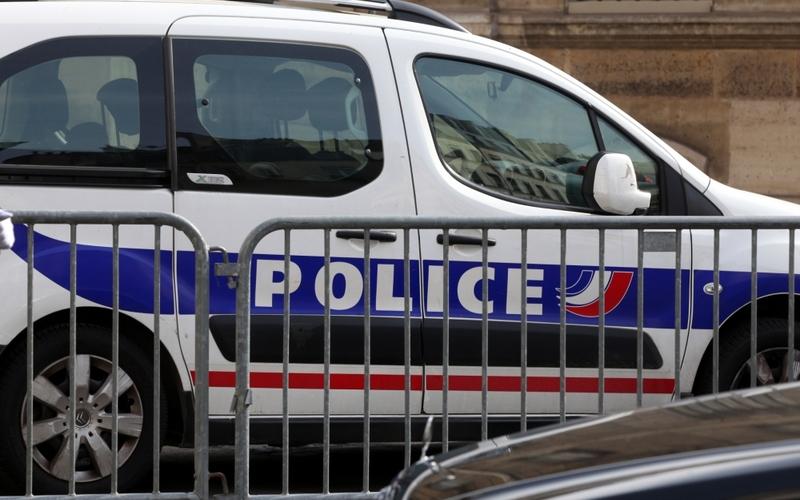 Französisches Polizeiauto - Foto: über dts Nachrichtenagentur
