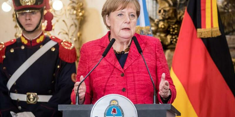 Merkel auf Lateinamerikareise - Foto: Michael Kappeler