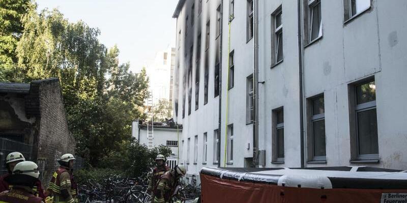 Wohnungsbrand - Foto: Paul Zinken