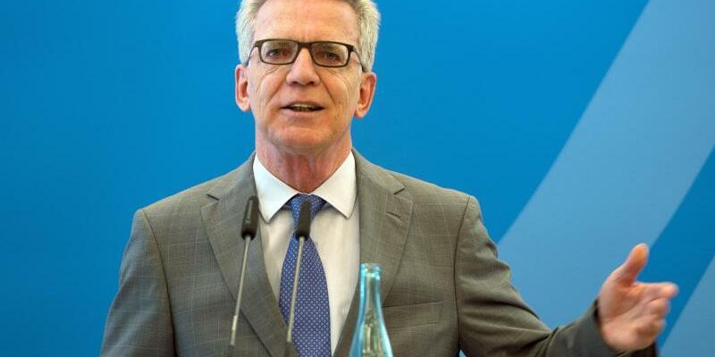 Innenminister de Maiziere - Foto: Monika Skolimowska
