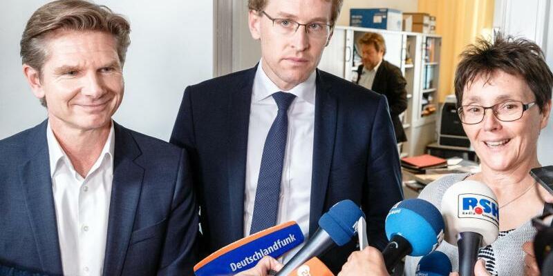 Koalitionsverhandlungen in Kiel - Foto: Markus Scholz