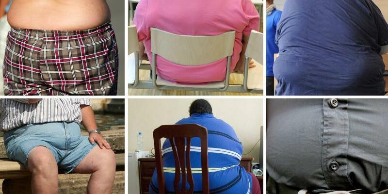 Fettleibige Menschen - Foto: Archiv