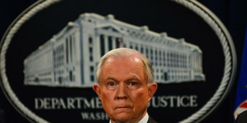 US-Justizminister Jeff Sessions - Foto: Miguel Juarez Lugo