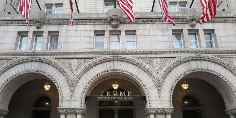 Trump-Hotel in Washington - Foto: Maren Hennemuth