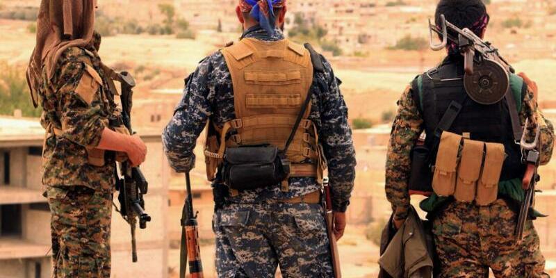 Kämpfer der SDF - Foto: -/Syrian Democratic Forces/AP