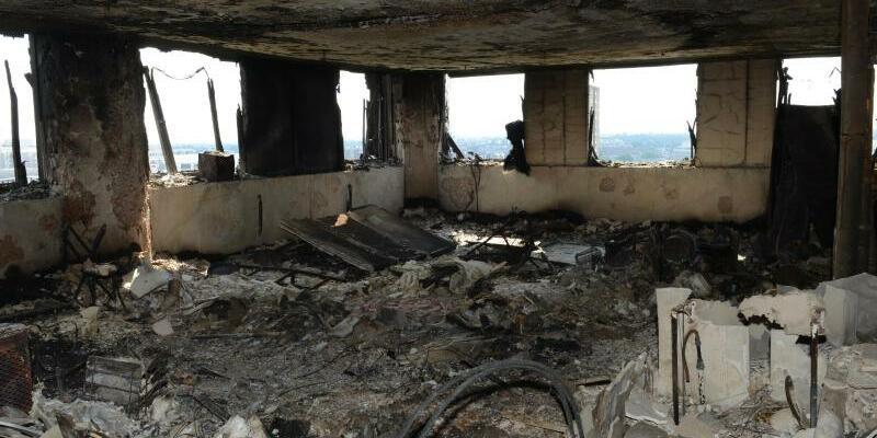 Ausgebrannt - Foto: Uncredited/Metropolitan Police