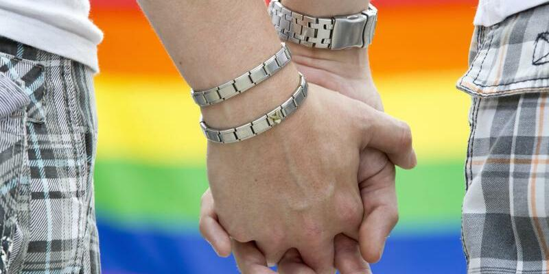 Homosexuelles Paar - Foto: Michael Reichel/Archiv