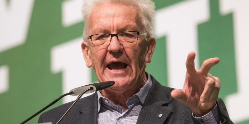 Winfried Kretschmann - Foto: Bernd Thissen