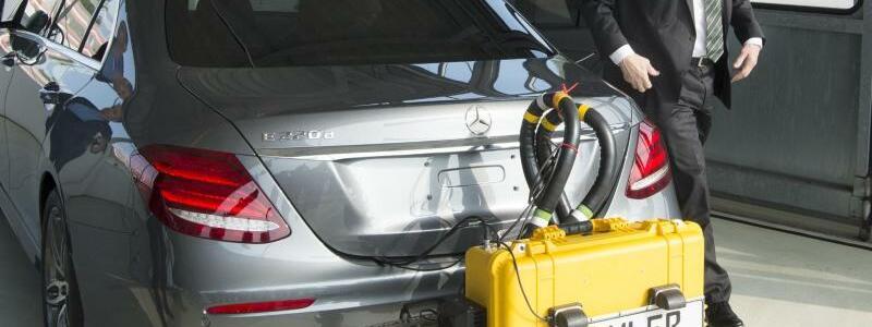 Daimler-Testfahrzeug - Foto: Franziska Kraufmann