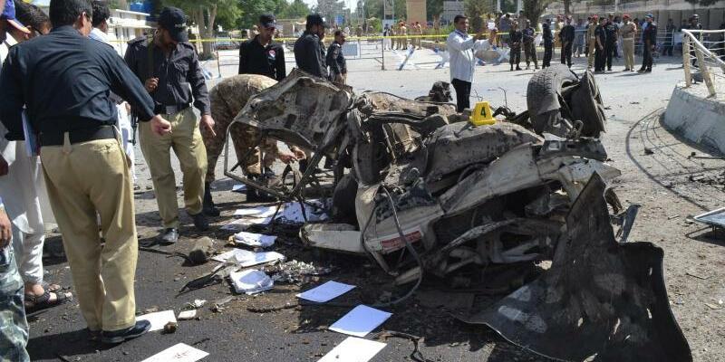 Bombenanschlag - Foto: Arshad Butt