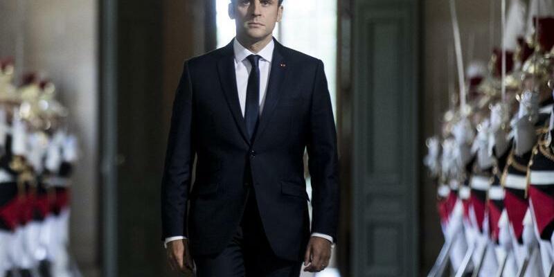 Macron - Foto: Etienne Laurent