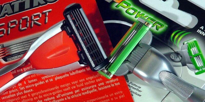 Patenstreit Gillette gegen Wilkinson - Foto: Federico Gambarini /Archivbild