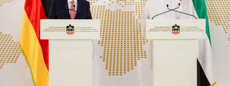 Gabriel in Abu Dhabi - Foto: Gregor Fischer