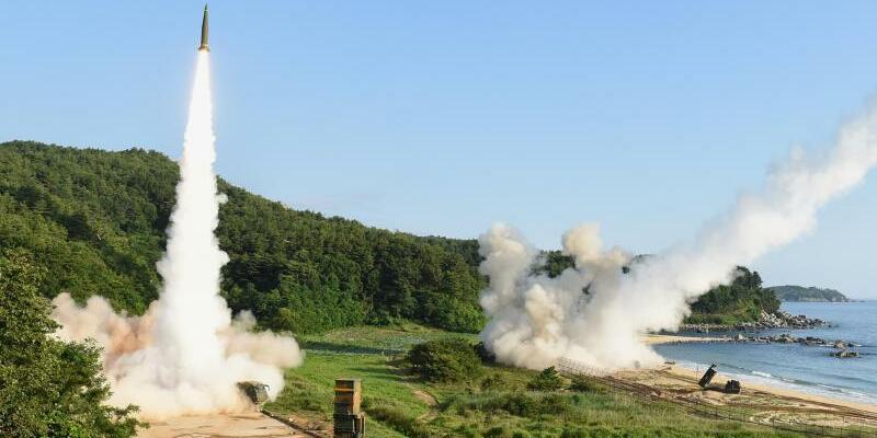 Raketenübung USA und Südkorea - Foto: YNA