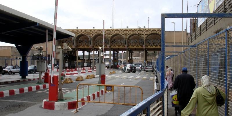 Grenzübergang zwischen Ceuta und Marokko - Foto: über dts Nachrichtenagentur