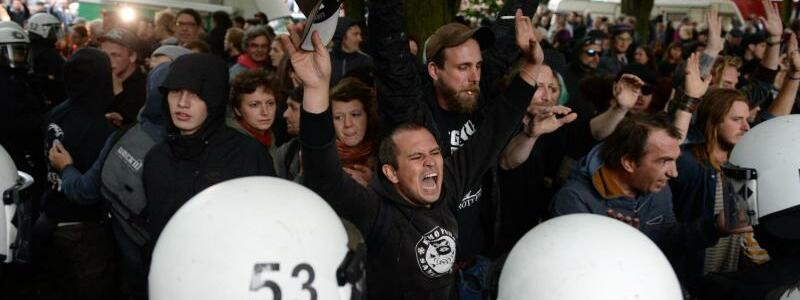 Proteste - Foto: Daniel Reinhardt