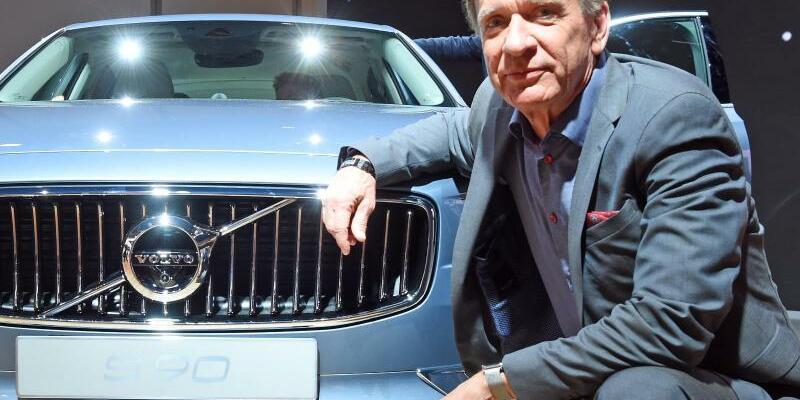 Hakan Samuelsson - Foto: Volvo-Chef Hakan Samuelsson setzt in Zukunft auf Autos mit Elektromotor. Foto:Uli Deck