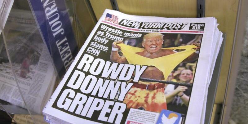 Exemplare der «New York Post» - Foto: Richard Drew