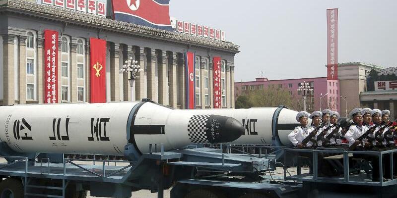 Nordkoreanische Rakete - Foto: Wong Maye-E