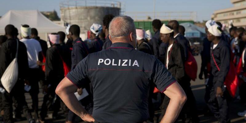 Flüchtlinge in Italien - Foto: Emilio Morenatti