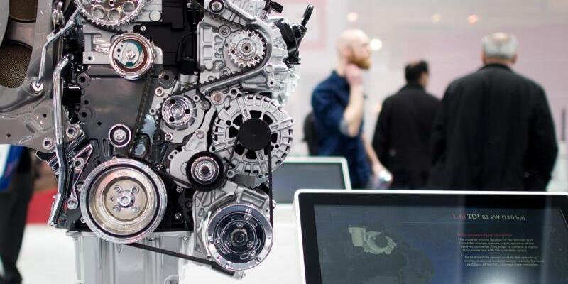 Dieselmotor - Foto: Julian Stratenschulte