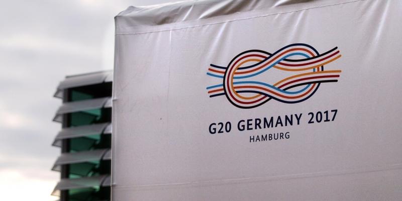 G20-Gipfel in Hamburg - Foto: über dts Nachrichtenagentur