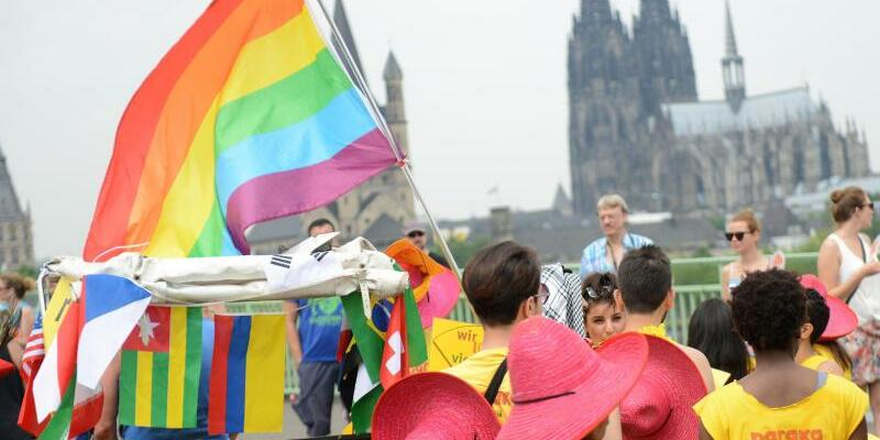 Christopher-Street Day Köln - Foto: Caroline Seidel/Archiv