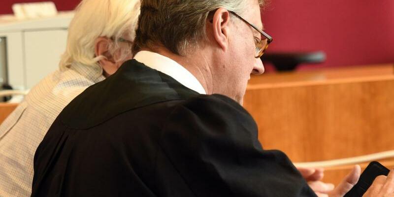 Prozess - Foto: Der angeklagte Rentner soll Haribo, Kaufland und Lidl erpresst haben. Foto:Henning Kaiser
