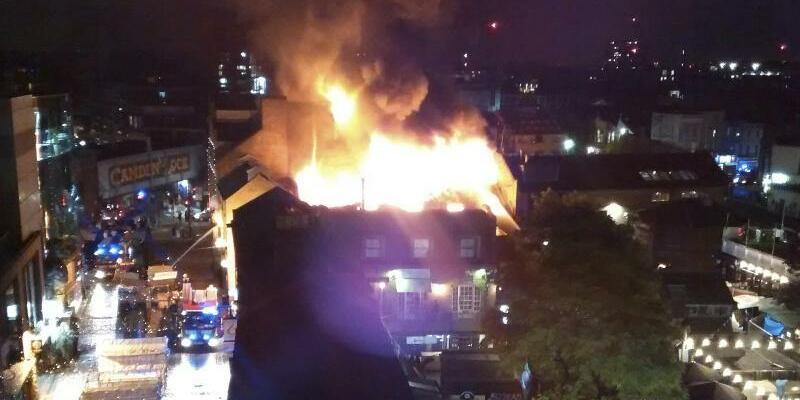 Feuer in London - Foto: Yusof Abdul-Rahman