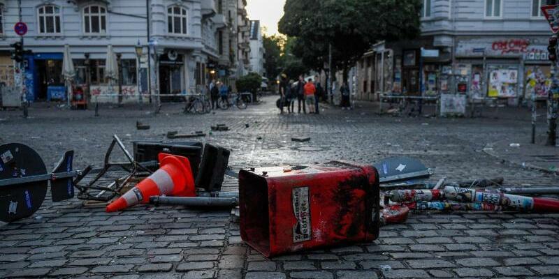 Am Morgen danach - Foto: Axel Heimken