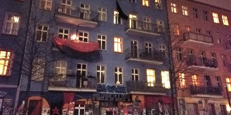Rigaer 94 - Foto: über dts Nachrichtenagentur