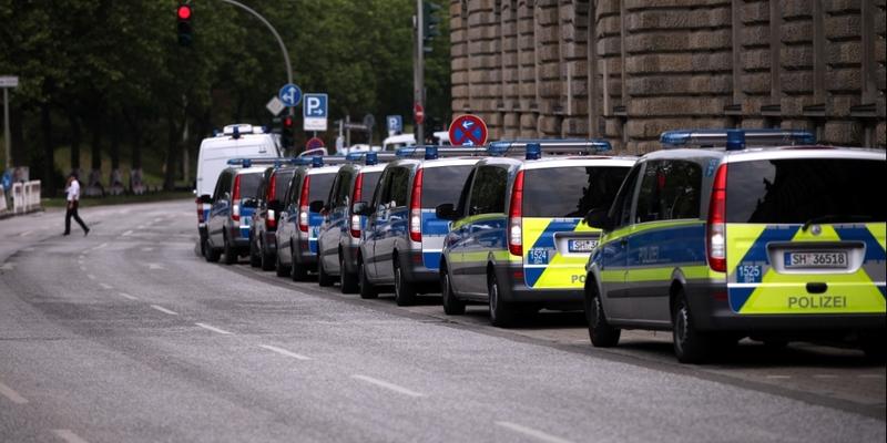 Polizei bei G20-Gipfel in Hamburg - Foto: über dts Nachrichtenagentur