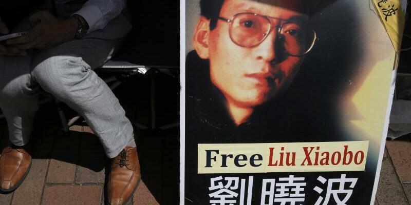 Proteste in China für Liu Xiaobo - Foto: Das Schicksal des Friedensnobelpreisträgers bewegt Menschen in aller Welt. Foto:Kin Cheung