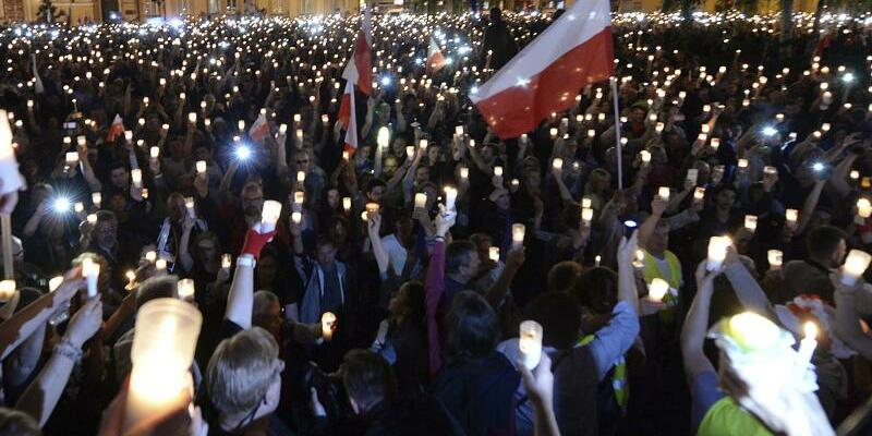 Proteste in Polen - Foto: Czarek Sokolowski