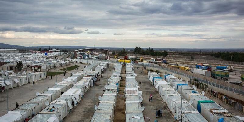 Flüchtlingslager - Foto: Das türkische Flüchtlingslager in Kilis:Mit dem Flüchtlingsdeal hat der türkische Präsident Erdogan ein wirkunngsvolles Faustpfand gegenüber Europa. Foto:Uygar Onder Simsek