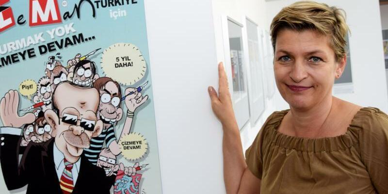 Karikaturen aus der Türkei - Foto: Göran Gehlen