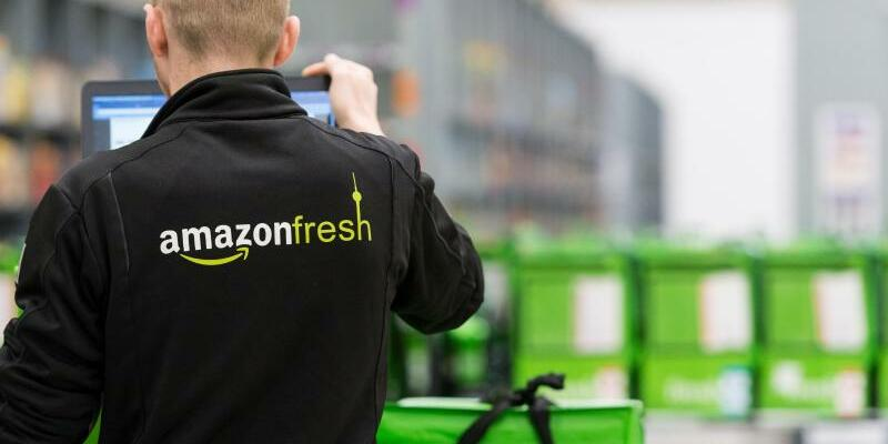 Amazon Fresh - Foto: Amazon Fresh war Anfang Mai in Berlin und Potsdam mit einem Sortiment von rund 85 000 Artikeln gestartet. Foto:Monika Skolimowska