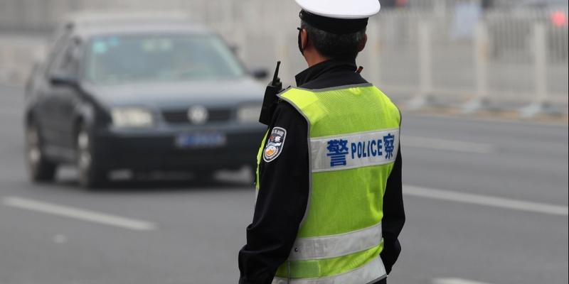 Polizist in China - Foto: über dts Nachrichtenagentur