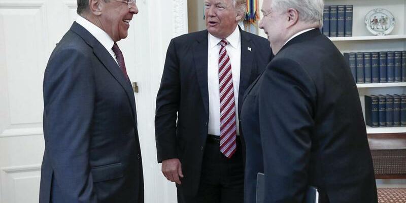 Trump trifft Lawrow - Foto: Russisches Außenministerium