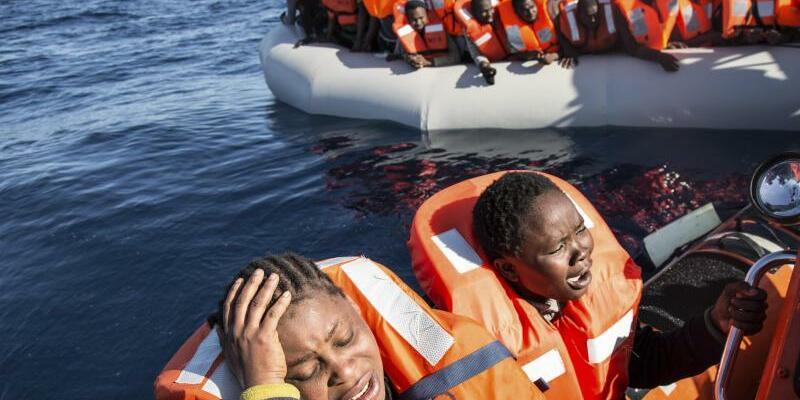Rettungseinsätze im Mittelmeer - Foto: Sima Diab/Archiv
