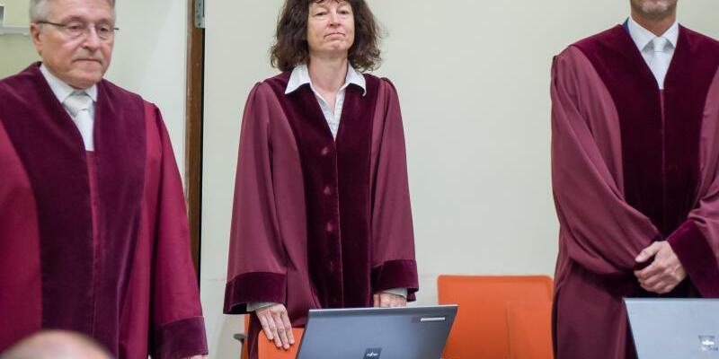 NSU-Prozess vor dem Oberlandesgericht München - Foto: Peter Kneffel