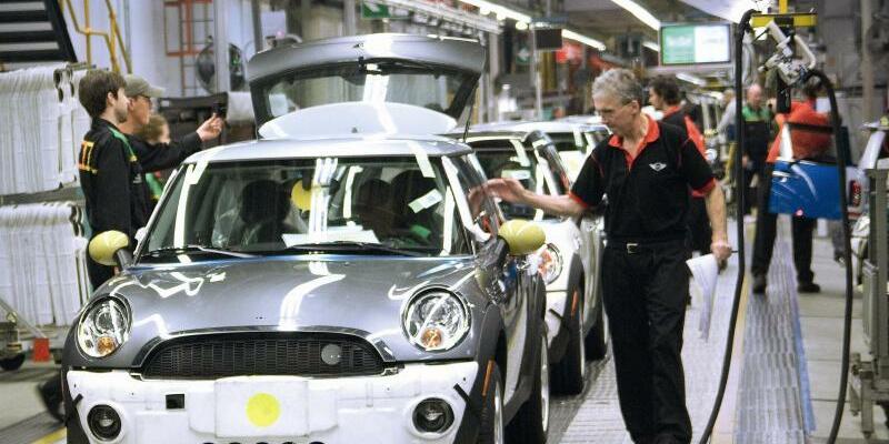BMW Mini-Produktion in Großbritannien - Foto: BMW/dpa