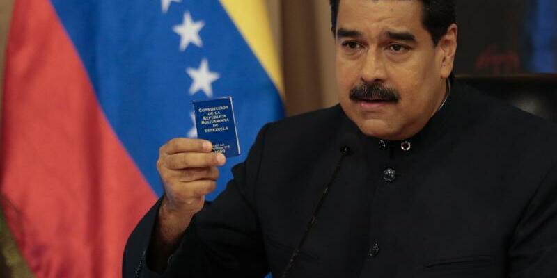 Nicolas Maduro - Foto: Prensa Miraflores/Illustration