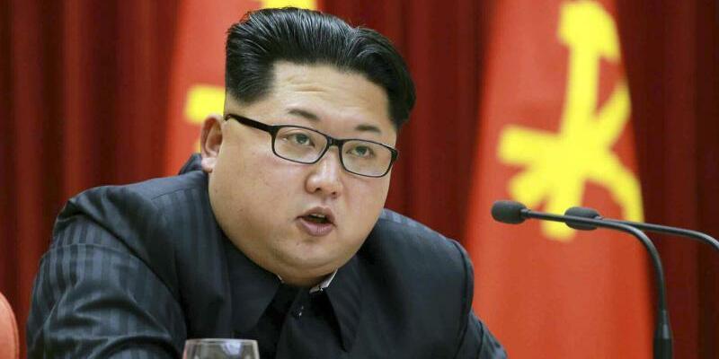Kim Jong Un - Foto: Rodong Sinmun/YONHAP/RODONG SINMUN/Archiv