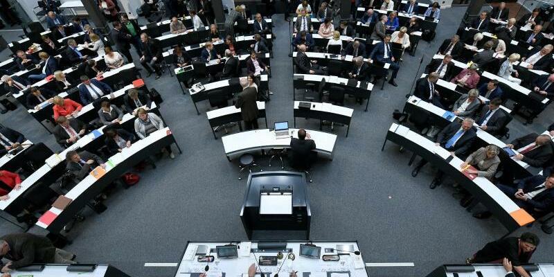 Landtag - Foto: Holger Hollemann