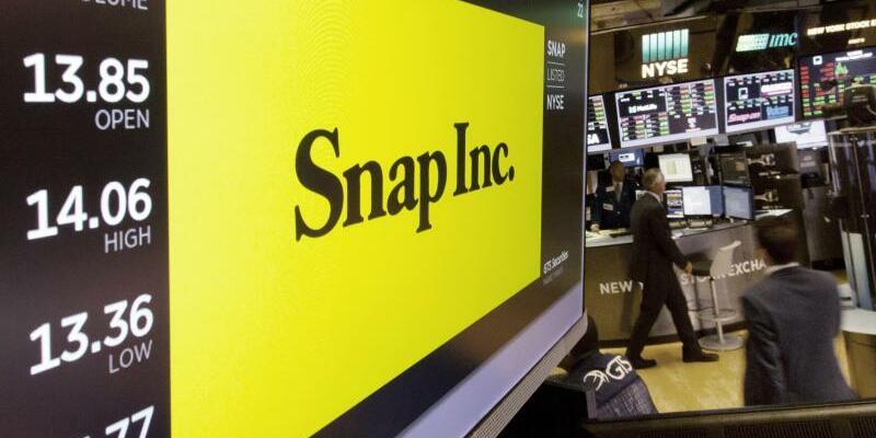 Snap Inc. - Foto: Richard Drew