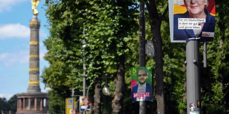 Wahlplakate in Berlin - Foto: Britta Pedersen