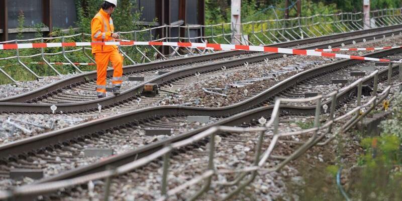 Bahnstrecke Rastatt-Karlsruhe - Foto: Benedikt Spether