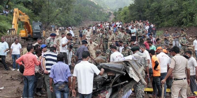 Erdrutsch in Indien - Foto: Shailesh Bhatnagar