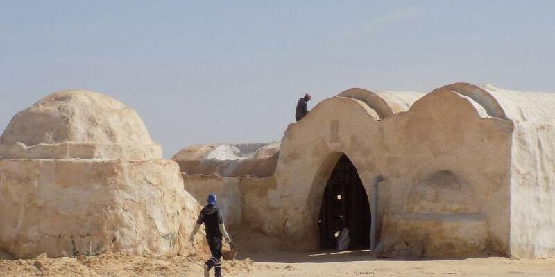 Star Wars Kulissen in Tunesien - Foto: Nabil Gasmi
